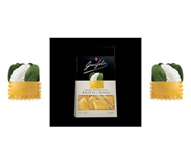 Pasta Garofalo -  Ravioli Ricotta en Spinazie