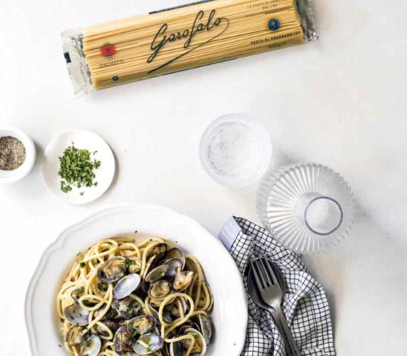 Pasta Garofalo - Spaghetti met venusschelpen