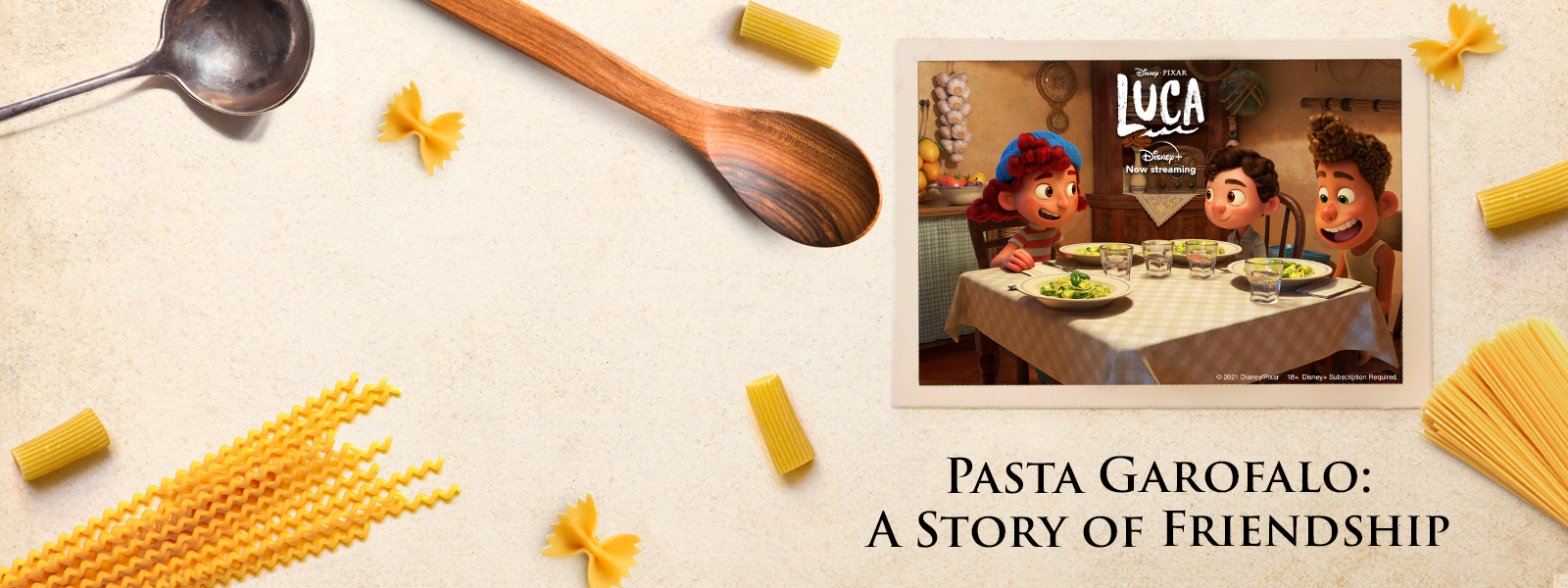 Pasta Garofalo viert de smaak van de Italiaanse zomer met Luca van Disney en Pixar