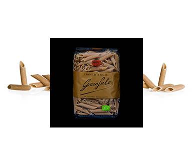 Pasta Garofalo - N° 5-70  Penne Ziti Rigate de trigo integral