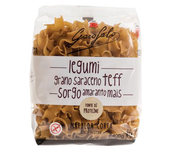 Pasta Garofalo - Mafalda aux légumineuses et céréales