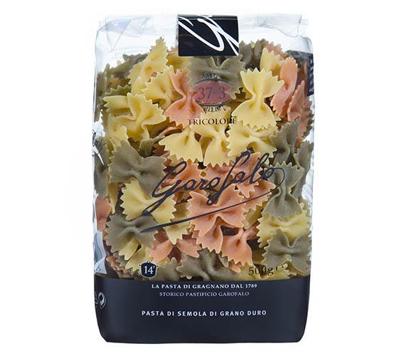 Pasta Garofalo - Farfalle tricolores
