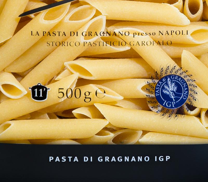 Pasta Garofalo - Das IGP-garantiesiegel