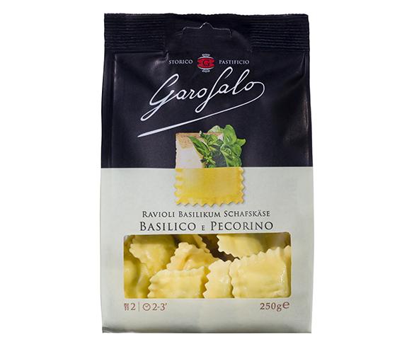 Pasta Garofalo - Ravioli Basilico e Pecorino