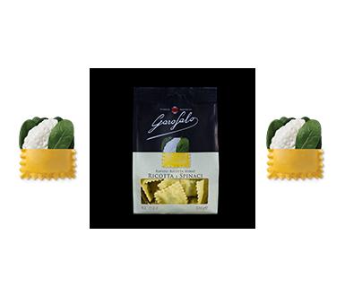 Pasta Garofalo -  Ravioli à la ricotta et aux épinards