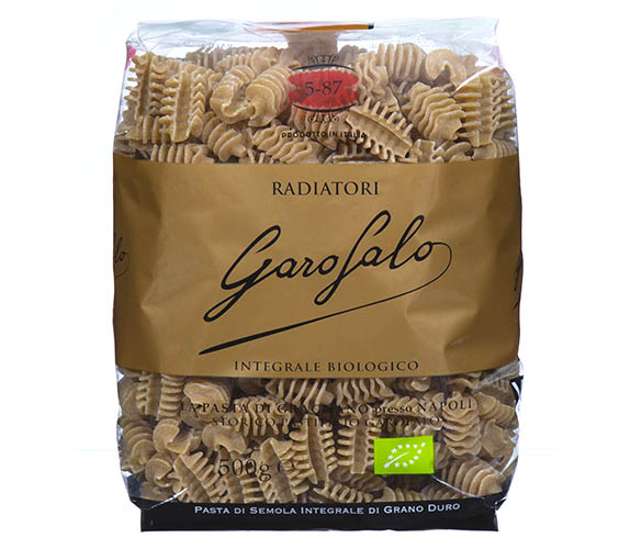Pasta Garofalo - Radiatori au blé complet
