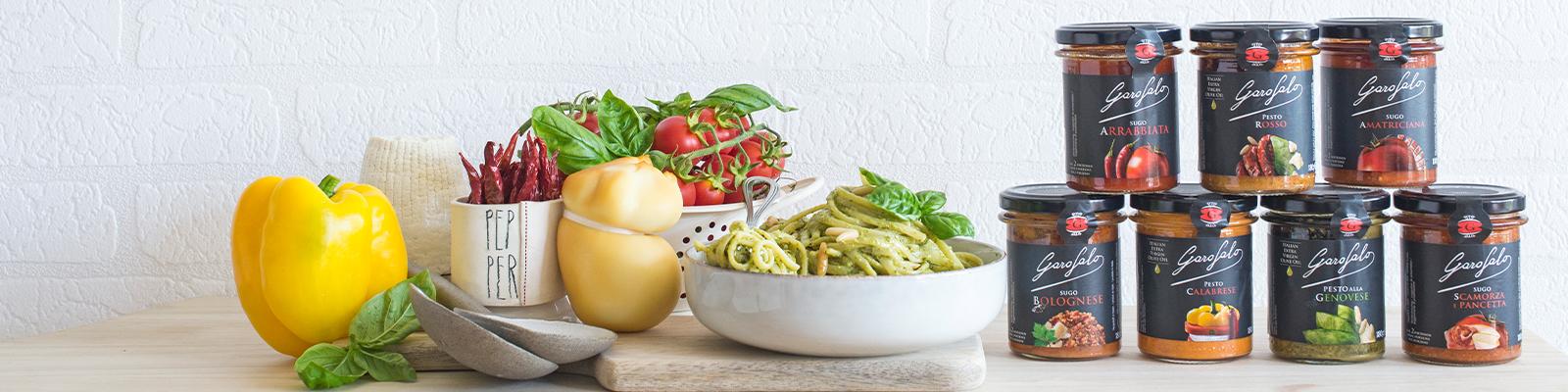 Pasta Garofalo - Sauces prêtes à l'emploi