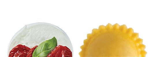 Pasta Garofalo - Girasoli mozzarella caprese