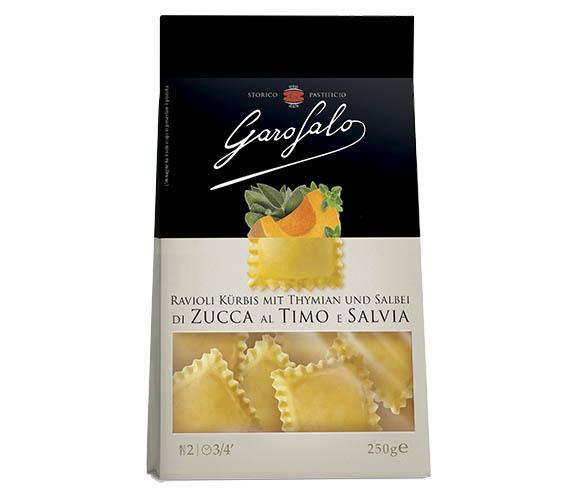 Pasta Garofalo - Ravioli de potiron au thym et à la sauge