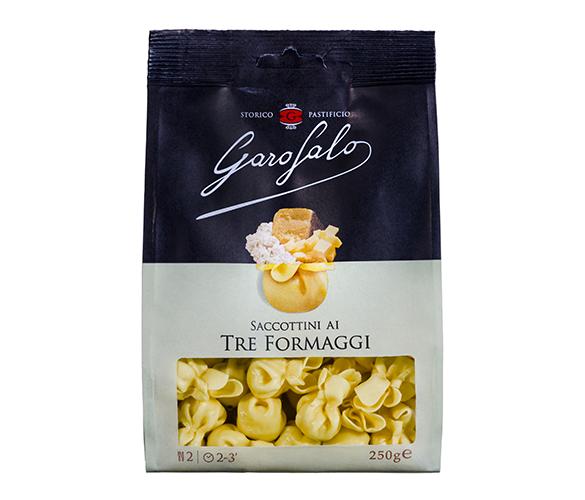Pasta Garofalo - Saccottini ai tre formaggi