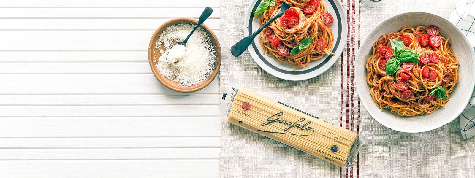 Pasta Garofalo,  unica per passione.