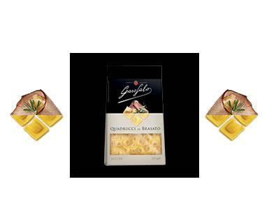 Pasta Garofalo -  Quadrucci al brasato
