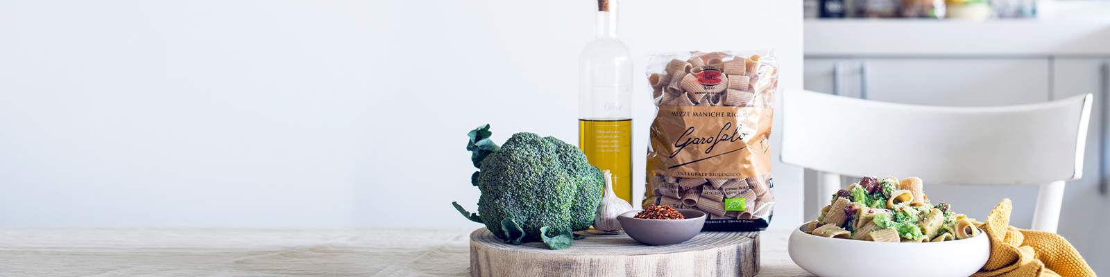 Pasta Garofalo - Vollkorngrieß aus Bio-Hartweizen
