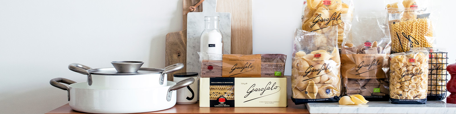Pasta Garofalo - Produkte