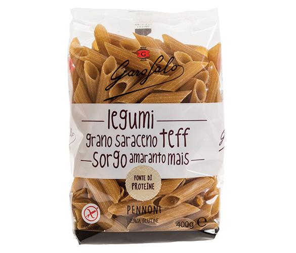 Pasta Garofalo - Pennoni Legumbres y Cereales