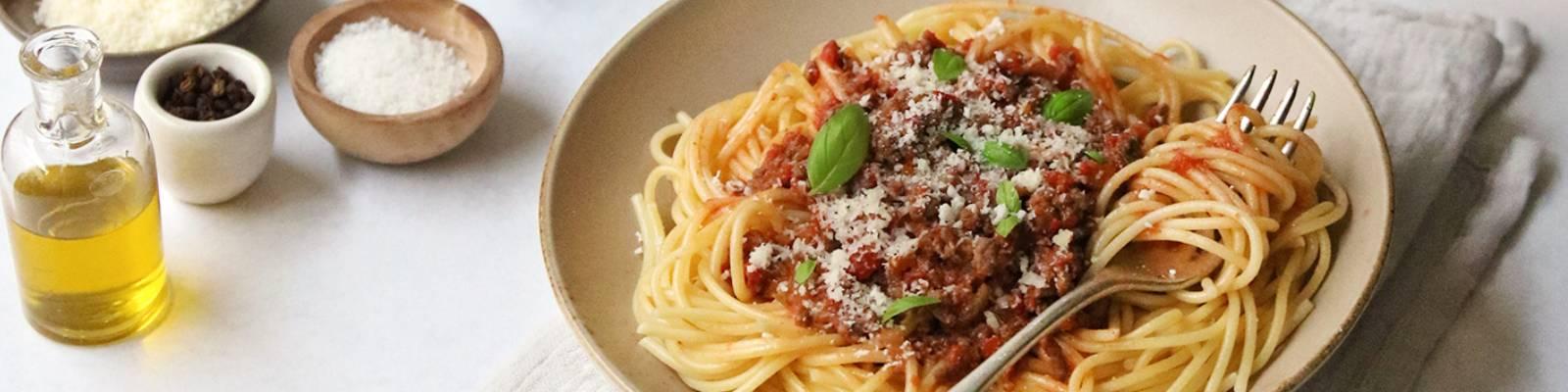 Pasta Garofalo - Spaghetti a la boloñesa