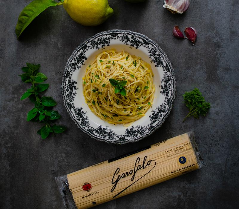 Pasta Garofalo - Spaghettini al aroma de Amalfi