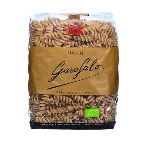 Pasta Garofalo Fusilli Integral y BIO Garofalo (n.5-63)