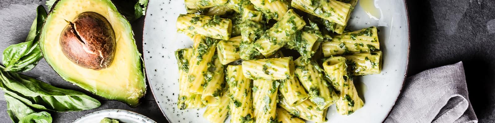 Pasta Garofalo - Elicoidali con pesto de aguacate