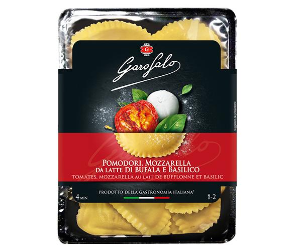Pasta Garofalo - Demi lune Tomates Mozzarella di Bufala Basilic