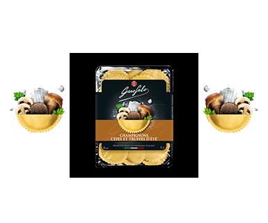 Pasta Garofalo -  Girasoli Champignons Cèpes Truffes