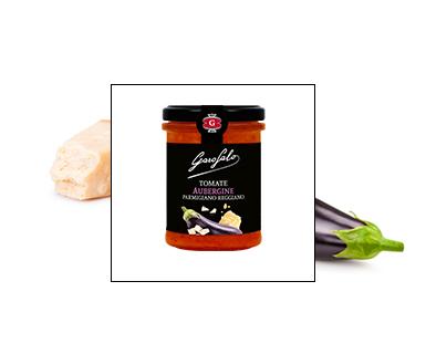 Pasta Garofalo -  Tomate Aubergine Parmigiano Reggiano AOP