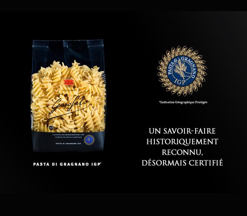 Pasta Garofalo - Garofalo obtient la certification IGP