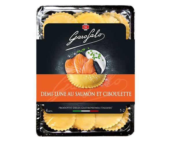 Pasta Garofalo - Demi-lune au Saumon et ciboulette