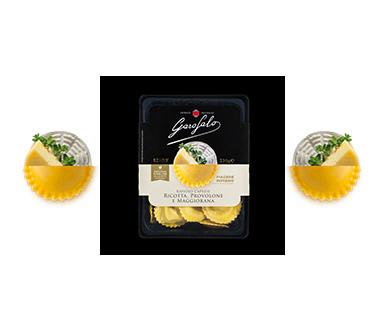 Pasta Garofalo -  Raviolo caprese, ricotta, provolone e maggiorana