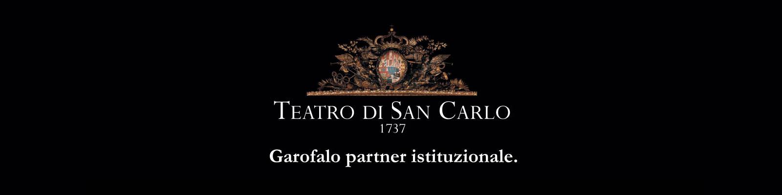 Pasta Garofalo sponsor di Teatro S. Carlo