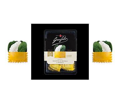 Pasta Garofalo -  Raviolo Ricotta di Bufala e Spinaci