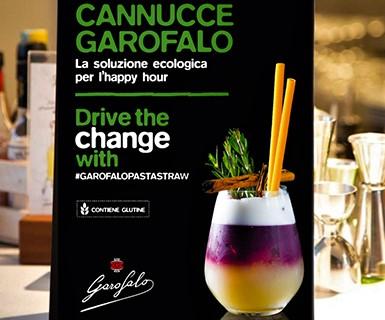 Pasta Garofalo - La cannuccia ecologica è made in Gragnano