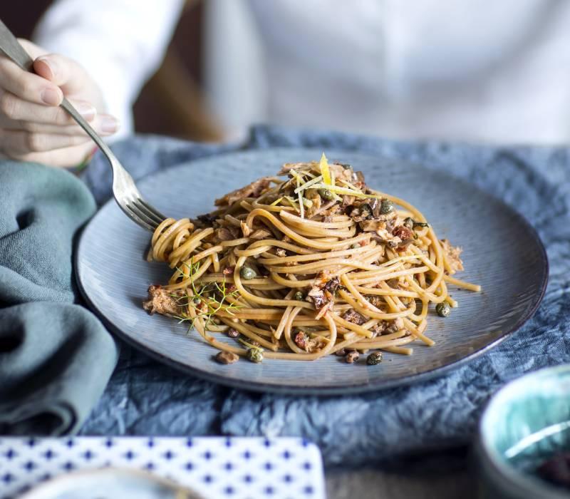 Pasta Garofalo - Spaghetti tonno e buzzonaglia