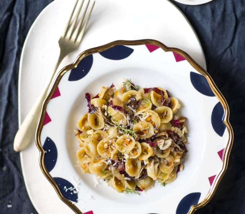 Pasta Garofalo - Orecchiette con salsa di noci e radicchio