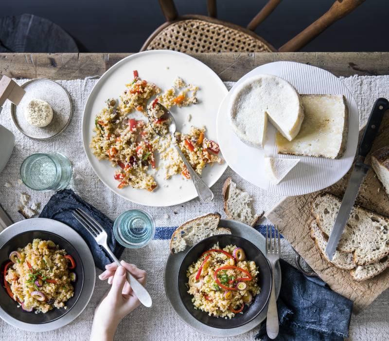 Pasta Garofalo - Pilaf di bulgur ai peperoni e uva passa