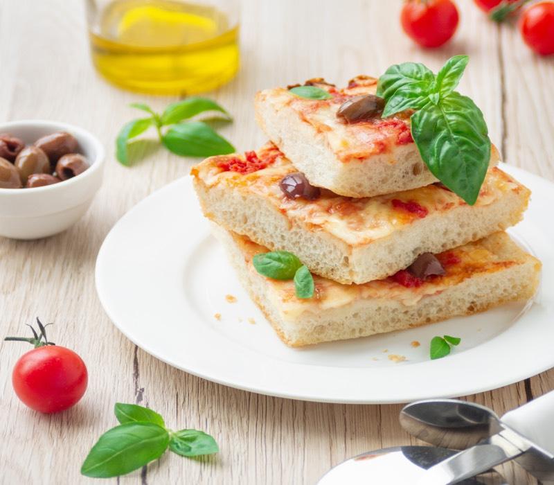 Pasta Garofalo - Pizza in teglia ad alta idratazione