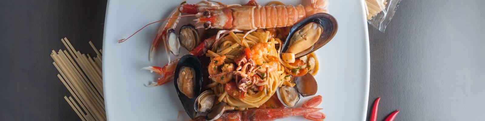 Pasta Garofalo - Linguine met zeevruchten