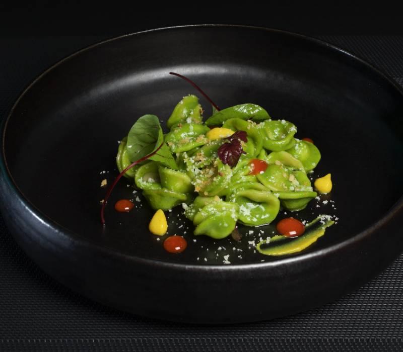 Pasta Garofalo - Orecchiette pesto met een kruidige toets