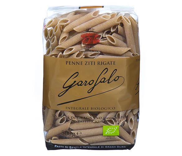 Pasta Garofalo - Penne Ziti Rigate de trigo integral