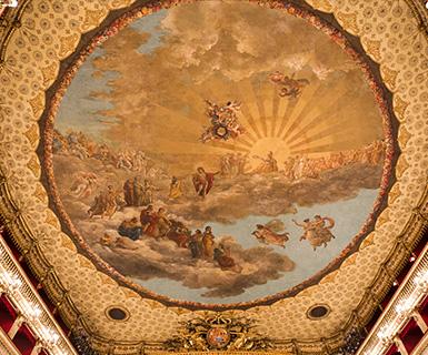 Pasta Garofalo - A massa Garofalo patrocina o Teatro S. Carlo