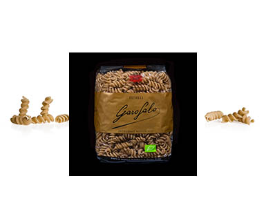 Pasta Garofalo - N° 5-63  Fusilli de trigo integral