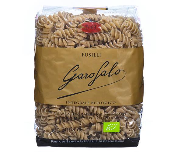 Pasta Garofalo - Fusilli de trigo integral