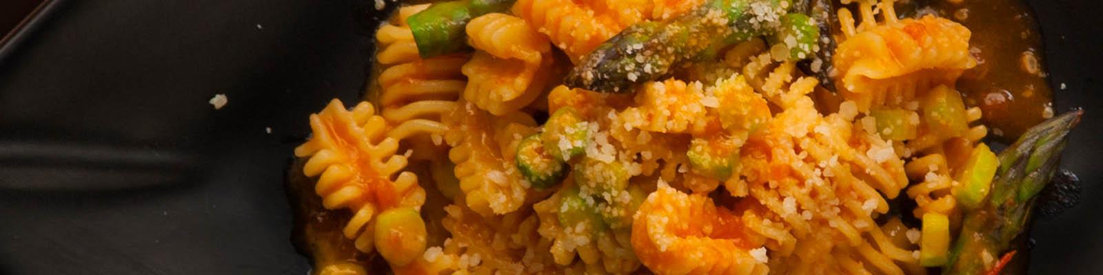 Pasta Garofalo - Radiatori com espargos verdes