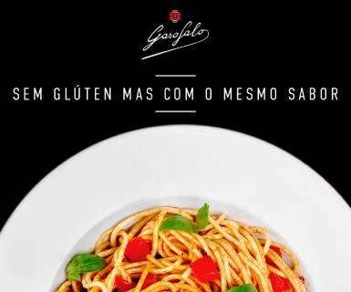 Pasta Garofalo - Siga-nos no Instagram