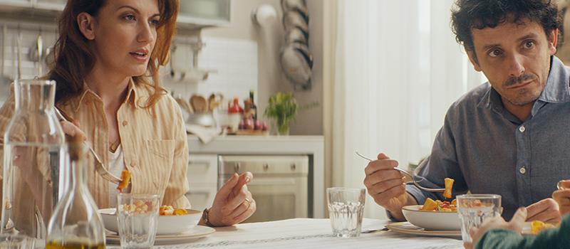 Pasta Garofalo - Garofalo debuterar på TV med