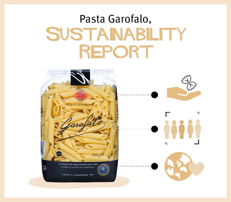 Pasta Garofalo - Garofalo lägger fram sin första hållbarhetsrapport.