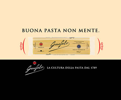 "Pasta Garofalo - Garofalo debuts on TV with ""Good pasta doesn't lie"""