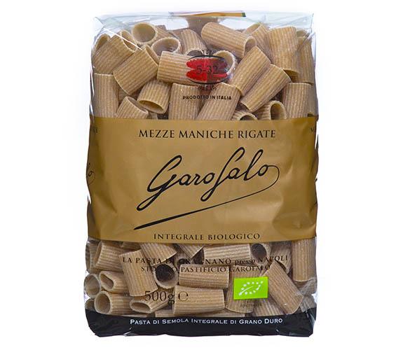 Pasta Garofalo - Whole Wheat Mezze Maniche Rigate