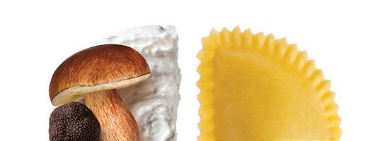 Pasta Garofalo - Mezzaluna Ricotta di Bufala, Porcini e Tartufo