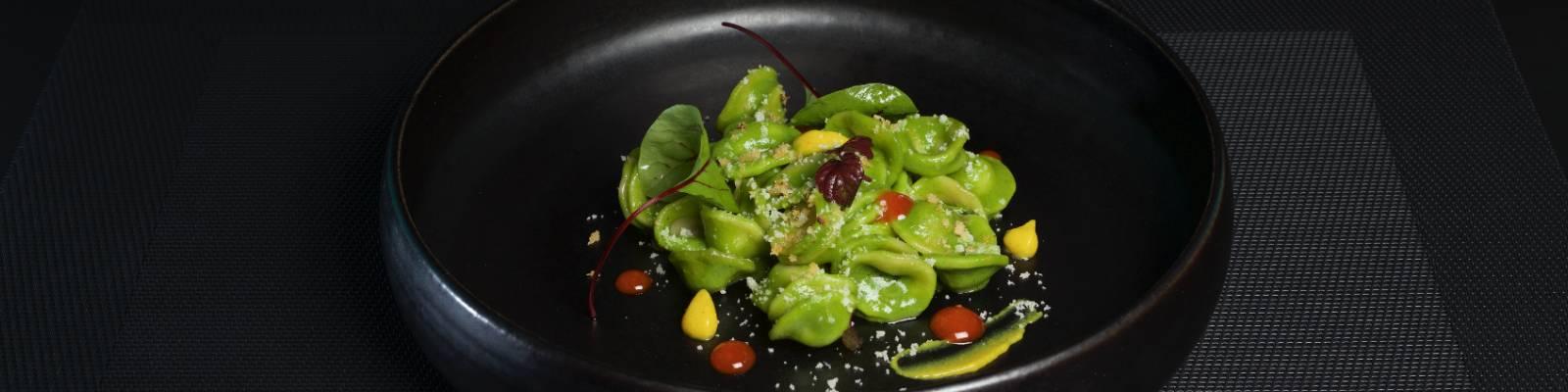 Pasta Garofalo - Orecchiette with pesto sauce, spicy touch